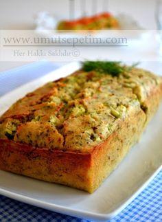 Kabaklı Peynirli Kek :) Joy Of Cooking, Turkish Recipes, Quiche, Banana Bread, Food And Drink, Vegetarian, Pumpkin, Yummy Food, Breakfast