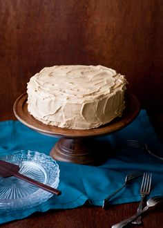 Cafe Johnsonia: Spice Cake with Penuche Frosting