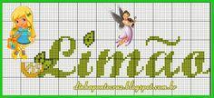 Salve o monograma completo aqui: http://dinhapontocruz.blogspot.com.br/2014/05/monograma-limaozinho-da-turma-da.html
