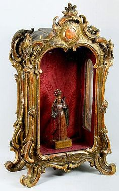 Late 18th C. Venetian Curio Cabinet