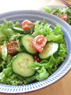Wakame salat | ワカメサラダ | wakame sarada Seaweed, Avocado Toast, Dressing, Breakfast, Food, Morning Coffee, Meals, Morning Breakfast