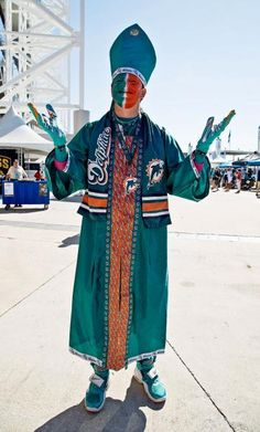 Miami Fan : NFL's craziest fans
