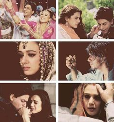 Shah Rukh Khan and Preity Zinta - Veer-Zaara (2004)