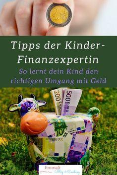 Mit diesen Tipps lernt dein Kind den richtigen Umgang mit Geld... Finanzen, Erziehungstipps, Erziehungstricks