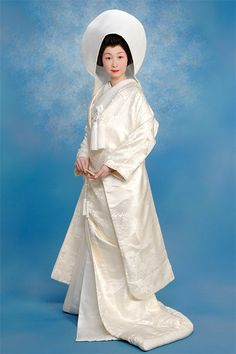 Japanese traditional wedding gown