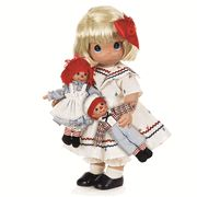 Precious Moments Forever Marcella with Raggedy Ann & Andy Limited Edition Doll Doll Toys, Baby Dolls, Dolls Dolls, Precious Moments Dolls, Ann Doll, Raggedy Ann And Andy, Dolls For Sale, Little Doll, Collector Dolls