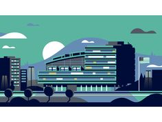 Government Building by Matt Anderson #Design Popular #Dribbble #shots