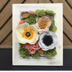 """89 Likes, 6 Comments - Felt Flower Design (@feltflowerdesign) on Instagram: """"Flower of the day."""""""