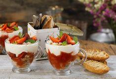 Συνταγές για Light Γλυκά | Argiro.gr Food Categories, Panna Cotta, Cheesecake, Strawberry, Gluten Free, Pudding, Fruit, Ethnic Recipes, Sweet