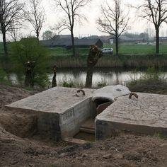Nieuwe Hollandse Waterlinie, recent ontdekte koepelkazemat Fort bij Everdingen