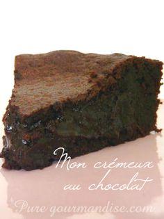 gateau crémeux chocolat