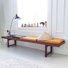 Ways to use your Krobo Bench. Here a picture from @medisterkake 's home on Instagram.