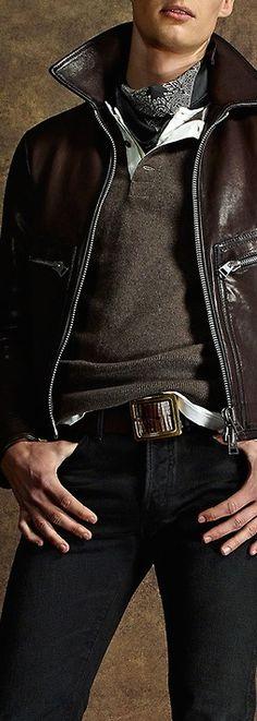 Tom Ford S/S 2015 Menswear~ LadyLuxury ✤ yess excelente conbinacion Sharp Dressed Man, Well Dressed Men, Fashion Moda, Mens Fashion, Casual Wear, Men Casual, Style Japonais, Dapper Gentleman, Moda Emo
