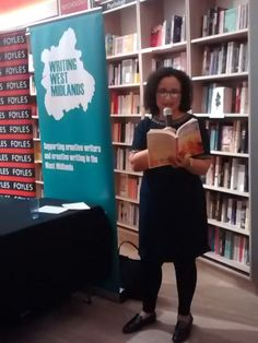Reading from 'Comforts For The Troops' at Foyles Local Author Reception.