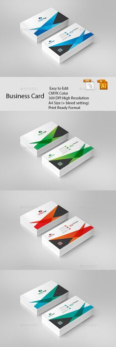 Business Card - #Business #Cards Print Templates