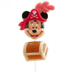 SUCETTES GUMMY MICKEY & MINNIE PIRATES 30 GR