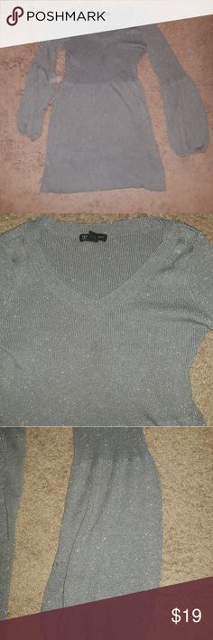 INC Sweater Dress This sweater dress glistens and sparkles. Super comfortable! I bought it to wear to New York on a trip. It has been gently used and is looking for a new home. It is too warm in Florida for me to wear this but it would look great on you! All offers will be considered. INC International Concepts Dresses Long Sleeve