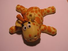 *GUMPASTE ~ I have never made a gumpaste figure before.  Can you even tell this is supposed to be a giraffe??