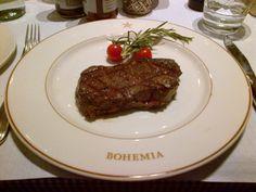 Angus Entrecôte, 180gr @ Restaurant Bohemia