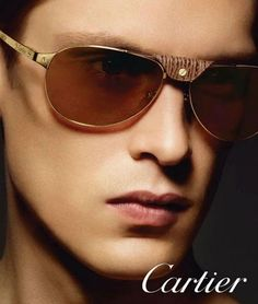 2c6726f2f4c4 Danish New York Management model Mathias Lauridsen is the new face of Cartier  eyewear campaign.