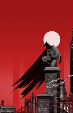 Batman and gotham by Dan-Mora on DeviantArt Posters Batman, Batman Artwork, Batman Comic Art, Comic Book Characters, Comic Character, Comic Books Art, Hero Marvel, Marvel Dc Comics, Batman Wallpaper