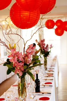 Banquet Floral Centerpieces for Tables | photo