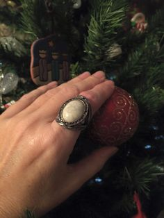 Nicole Naquin Branson shared a beautiful festive photo displaying one of our rings | Rustic Rep photo ideas