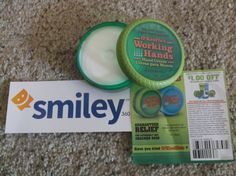 #smiley360 #Freeproduct #OKeeffes #reliefwithokeeffes Great stuff cleared up my hands pretty nice!