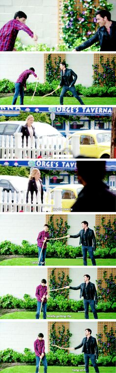 "Henry, Emma Swan and Killian Jones - 6 * 3 ""The Other Shoe"" #CaptainSwan #CaptainCobra"