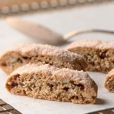... nice cup of coffee! Whole-Grain Cinnamon-Nut Baby Biscotti... More