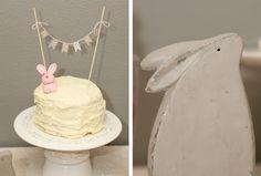 love the little bunny cake!
