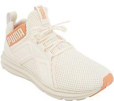 6ff6d8e5347 Puma Mesh Lace-Up Sneakers - Enzo Weave