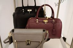 OC Style Approved Round 2! Great bags at Danier, especially love the little grey one!