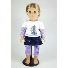 d6482a771aca8 Rock Star Outfit for 46cm Dolls Including The American Girl Line