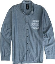 BILLABONG SHOWDOWN LS SHIRT | Swell.com sz Lg, Blue #BBM0103SHWBUL...Ryan