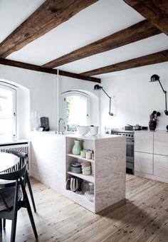 La #casa más antigua de Copenhague.