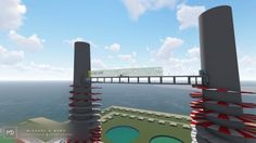 Sky Bridge, Dublin City, Best Interior Design, Willis Tower, Wind Turbine, Building, Travel, Viajes, Buildings