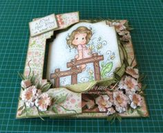 "From My Craft Room: Swing Card V.2 Tutorial - 6"" x 6"" (15cm x 15cm)"