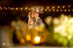 Bride and groom share first dance during their wedding reception at Moon Palace Spa & Golf Resort in the Mayan Riviera. Photo courtesy of #DreamArtPhotography. Special thanks to @prweddings