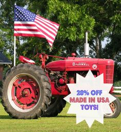 Made in USA toys - Labor Day Sale! - Turner Toys & Hobbies