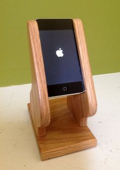 Sony NWZ ZX1 Holder / Stand for Audio Use Natural by WOODESIGNERS