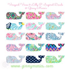 vineyard vines meets lilly pulitzer inspired whale decals.png
