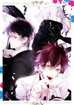 Looking for information on the anime Diabolik Lovers OVA? Find out more with MyAnimeList, the world's most active online anime and manga community and database. OVA of Diabolik Lovers included with the upcoming game Diabolik Lovers DARK FATE. Subaru Sakamaki, Kanato Sakamaki, Carla Tsukinami, Poster Wall, Poster Prints, Manga, We Heart It, Ruki Mukami, Diabolik Lovers Ayato