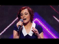 Seriously amazing voice!!! Bella Ferraro: Skinny Love - Auditions - The X Factor Australia 2012 (+p...