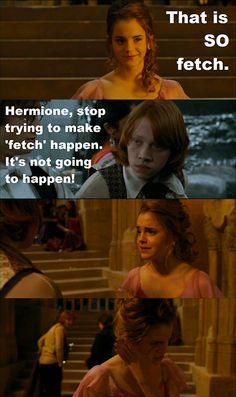 Why do Mean Girls and Harry Potter go together so well :)