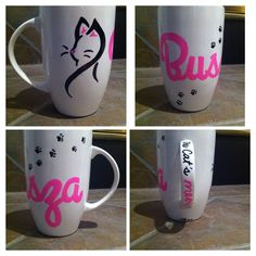 Cats meow sharpie mug DIY