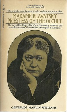 "Madame Blavatsky Priestess of the Occult. The terms ""Left hand path & Right hand path"" was brought from the east to the west by Blavatsky."