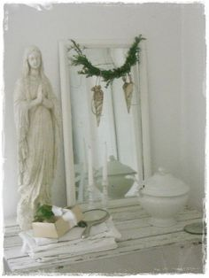 lilleweiss: Weiße Weihnacht im alten Zollhaus...