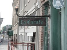"""La Carafe - the """"oldest bar in houston"""" Most Haunted Places, Scary Places, Great Places, Houston Date Ideas, Houston Bars, Houston Tx, Old Town Spring, Hermann Park, Ghost Walk"""