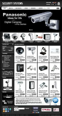 Security System Shop VirtueMart Templatedfg